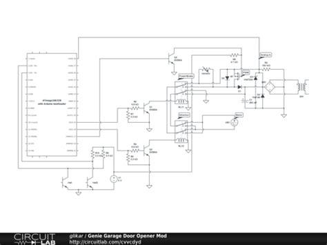 Genie Garage Door Opener Circuit Board Schematic Circuit Genie Garage Door Opener Schematic