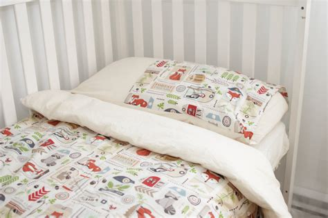 woodland kids bedding set duvet cover and by chubbyabc on