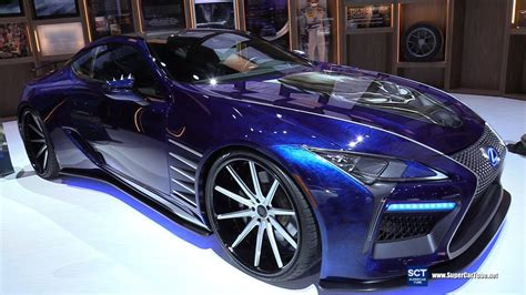 lexus lc black panther exterior walkaround