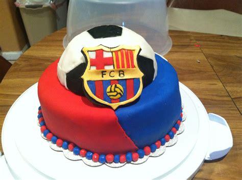 barcelona cake fc barcelona cake cakes i ve made pinterest fc