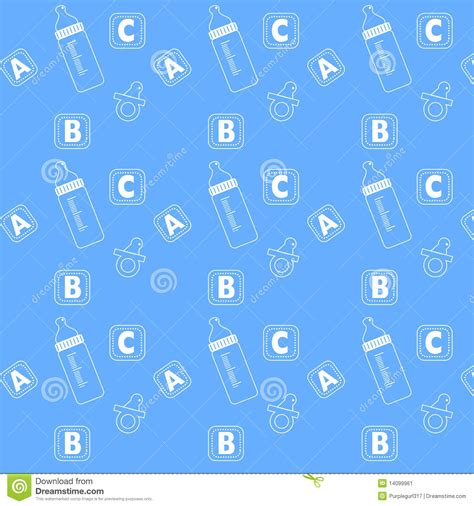 cute icon pattern baby icon patterns stock image image 14099961