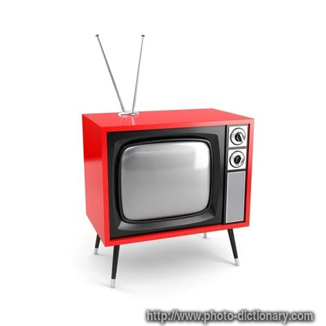 image of tv retro tv photo picture definition at photo dictionary