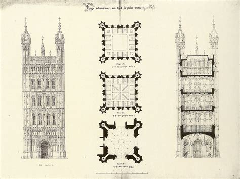 Second Empire House Plans gallery of ad classics palace of westminster charles
