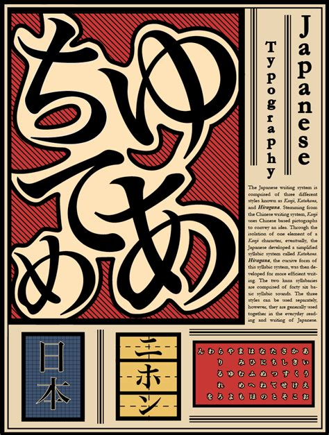 typography japanese japanese typography poster hiragana