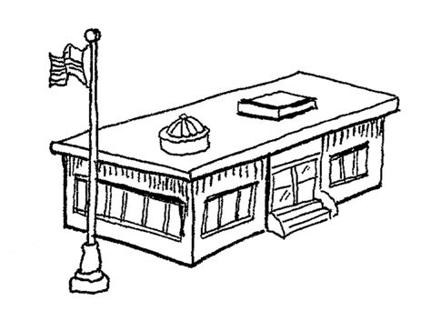 coloring pages for school building college building drawing clipart panda free clipart images