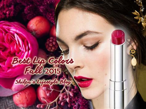 lip color for 2015 best lip colors for fall 2015