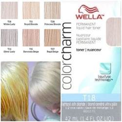 hair toner colors wella toner bleached hair and on