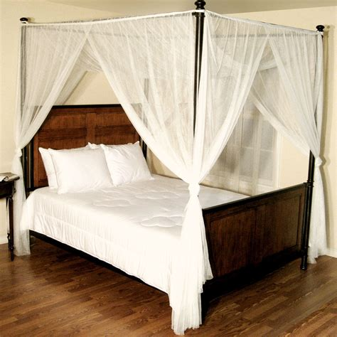 Canopy Beds With Drapes by Canopy Bed Drapes Myideasbedroom