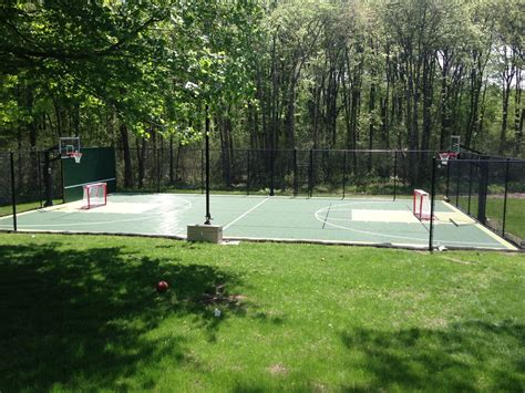 Basketball Court In Backyard Cost Backyard Basketball Court Landscape Traditional With