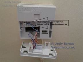 moving bt infinity dsl from master socket to any household extension socket vmadmin co uk