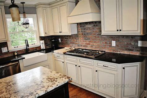 brick kitchen backsplash contemporary kitchen pinney brick backsplash island apron sink light above sink