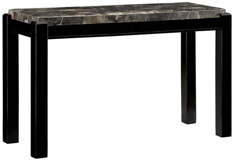 Marble Top Sofa Table by Gladstone Gray Marble Top Sofa Table Cm4823bk S