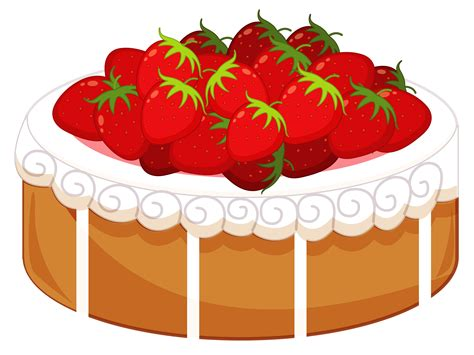 cake clipart strawberry cake clipart