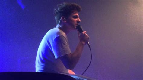 charlie puth then there s you live then theres you charlie puth mod club toronto