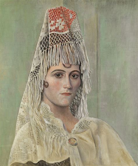 picasso paintings of olga picasso olga khokhlova with a mantilla barcelona summer