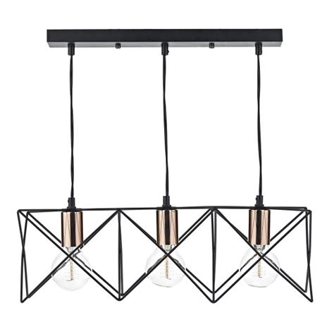 geometric retro pendant light fitting best for