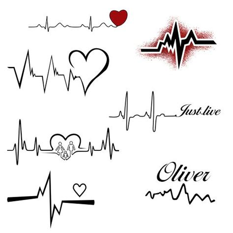 8 heartbeat tattoo designs that are worth trying flow