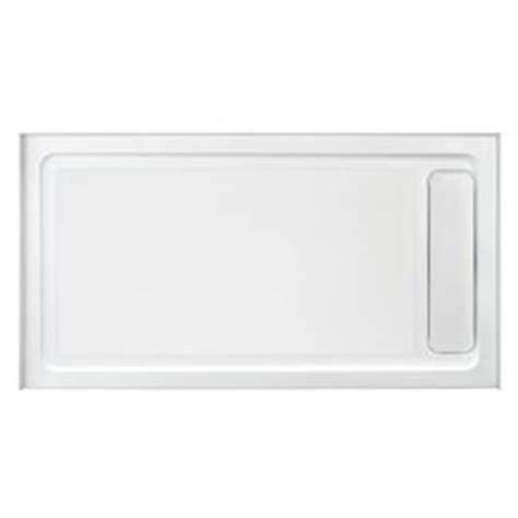 Ove Shower Base by Shop Ove Decors White Acrylic Shower Base Common 32 In W X 60 In L Actual 32 In W X 60 In L