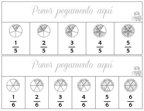 ejercicios de fracciones para cuarto de primaria actividades de fracciones para tercer a sexto grado de