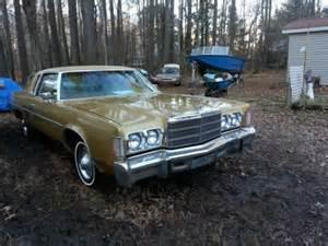 1977 Chrysler Newport Sell Used 1977 Chrysler Newport 2 Dr Coupe 400 4bbl V G