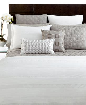 macys bed skirt closeout hotel collection deco white queen bedskirt