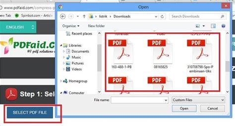 compress pdf terbaik sesuai pengalaman tutorial situs compress pdf online