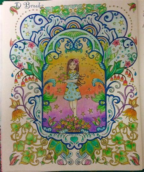 secret garden coloring book indigo 2009 best finished colouring idea images on