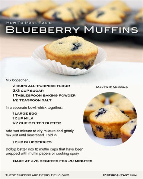 the beloved basic blueberry muffin team breakfast
