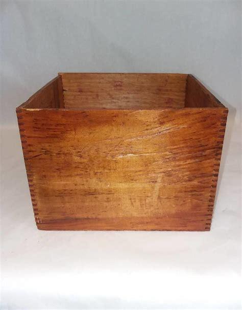 Wood Carpenter S Chalk Box 7 75x8 5x6 Quot E 1900 S The
