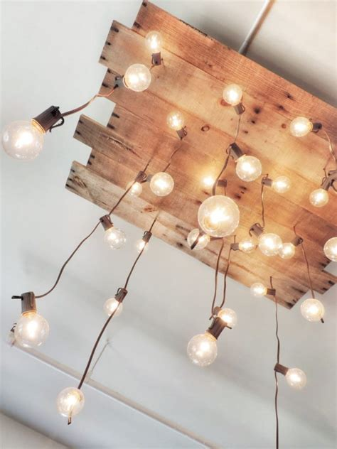 Reclaimed Chandeliers Diy Handmade Reclaimed Pallet Chandelier Id Lights