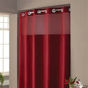 Bed Bath And Beyond Shower Curtain Liners Hookless 174 Waffle Fabric Shower Curtain And Liner Set In