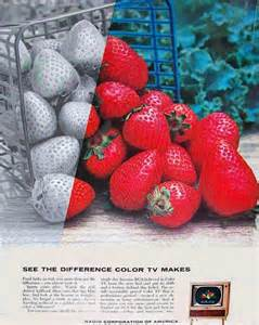 color ad rca color ads