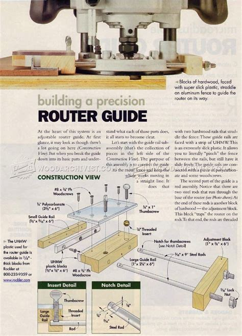 router template guide diy router guide woodarchivist