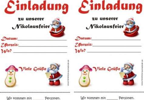 Muster Einladung Nikolausfeier Einladungen Weihnachten Bunte Weihnachtsvorlagen Ausmalen Ausmalbilder