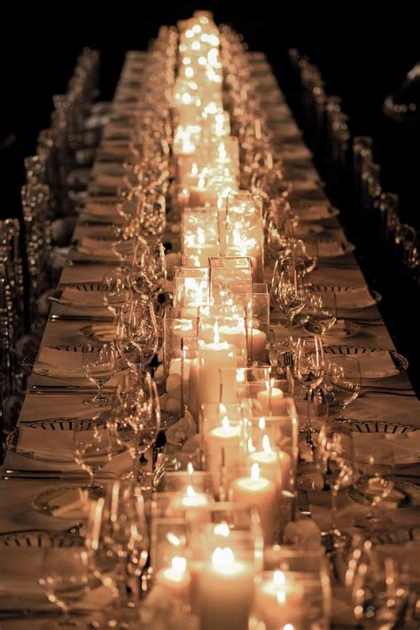 Candle Runner Decorating Weddings With Candles Decorazilla Design