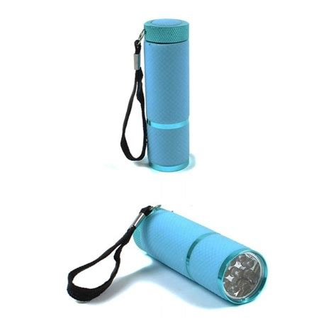 Glow Torch Senter 9 led lumi glow torch blue cing essentials from