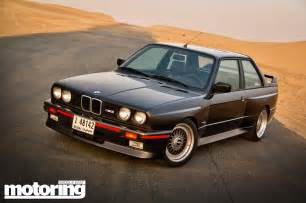 E30 Bmw M3 1987 Bmw E30 M3 Driven In Dubai Motoring Middle