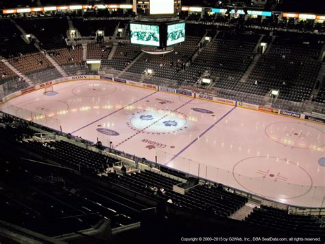 acc section 324 air canada centre section 319 toronto maple leafs