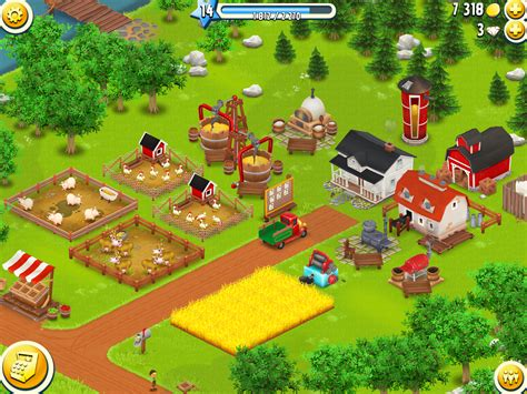 How To Find On Hay Day Hay Day Guides The Production Buildings On The Farm Hay Day