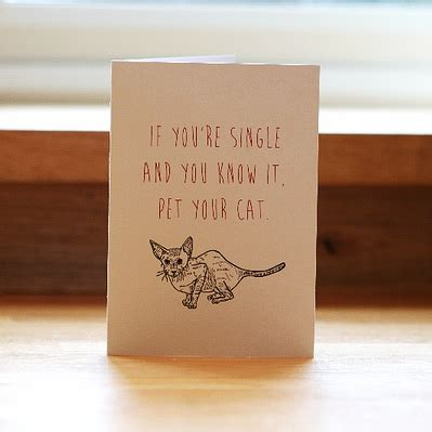 cheeky anti valentine s day cards for singletons with a
