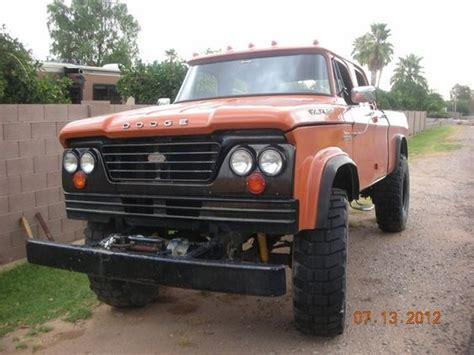 dodge w300 crew cab for sale 1964 dodge w300 power wagon crew cab power wagons 2