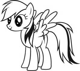 Free Printable My Little Pony Coloring Pages For Kids sketch template