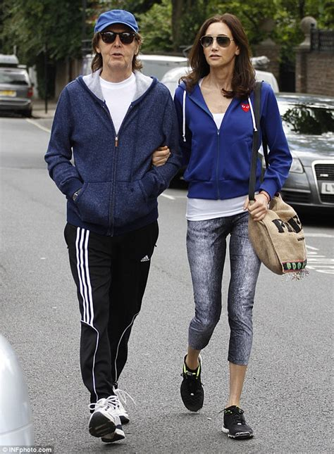 Paul Mccartney Stepping Out With A New Friend by Paul On The Run Paul Mccartney And Nancy Shevell Begin