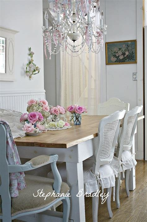 Shabby Chic Dining Table Set Shabby Chic Dining Room Set Alliancemv