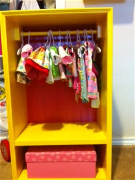nonni and b closet for an 18 quot doll