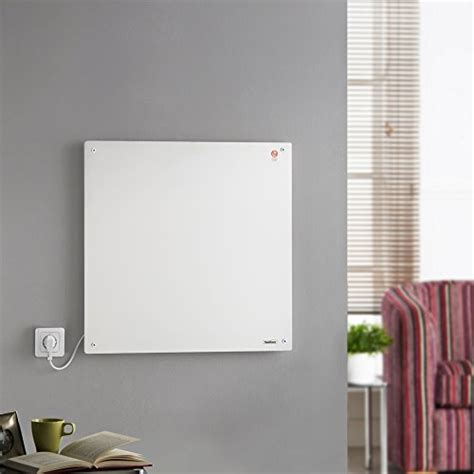 low energy electric wall heaters vonhaus 450w wall mounted electric flat panel heater