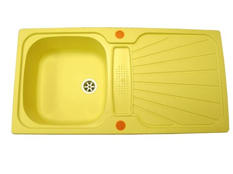 Yellow Kitchen Sink Astracast Dusky Yellow Caravan Kitchen Sink And Waste Kit Caravan Components