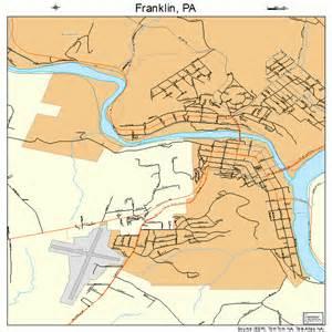 franklin map franklin pennsylvania map 4227456