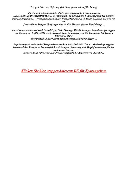 Www Treppen Intercon De 6246 by Treppen Intercon De Gutscheincode