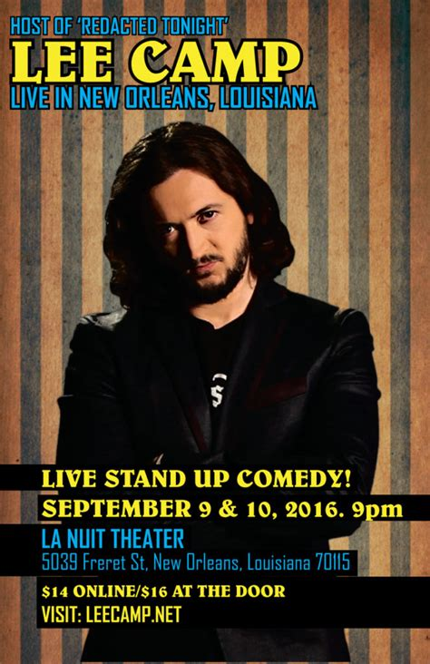 Watch Stand Up Comedy Free Online by Live Stand Up Comedy Show In New Orleans Www Leecamp Com